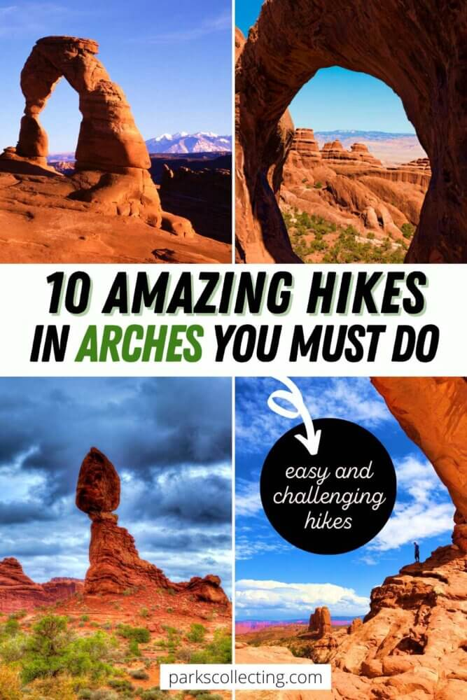 10 Amazing Hikes in Arches National Park