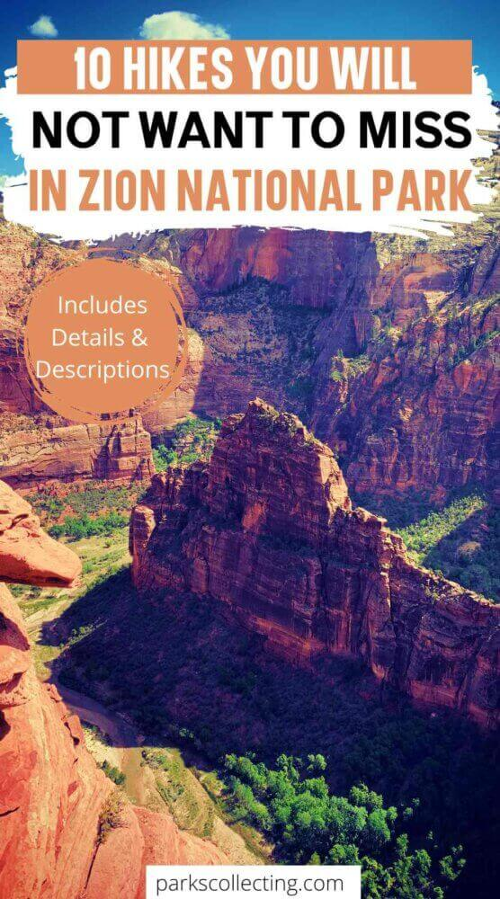 10 Hikes You Will Not Want to Miss in Zion National Park