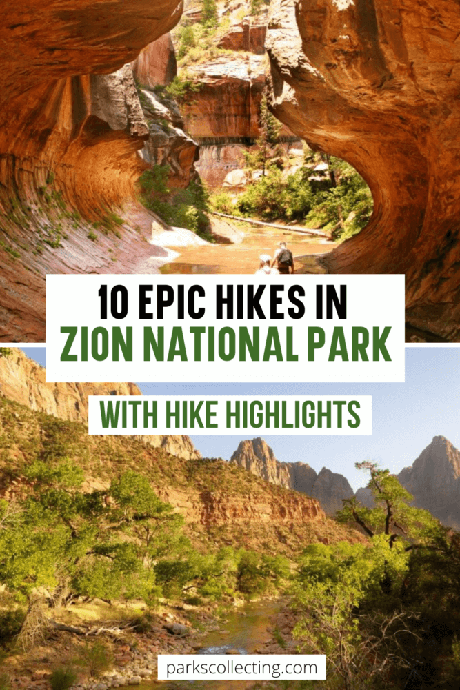 10 Epic Hikes in Zion National Park