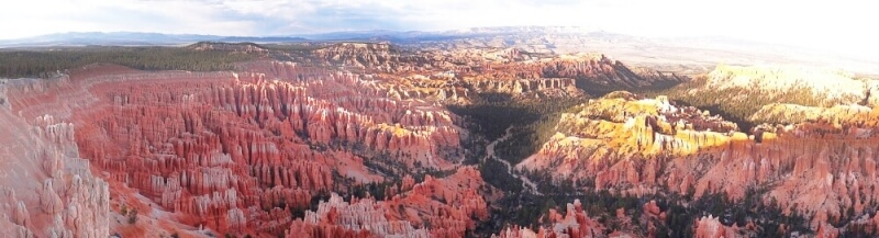 Bryce-Canyon-overlook view
