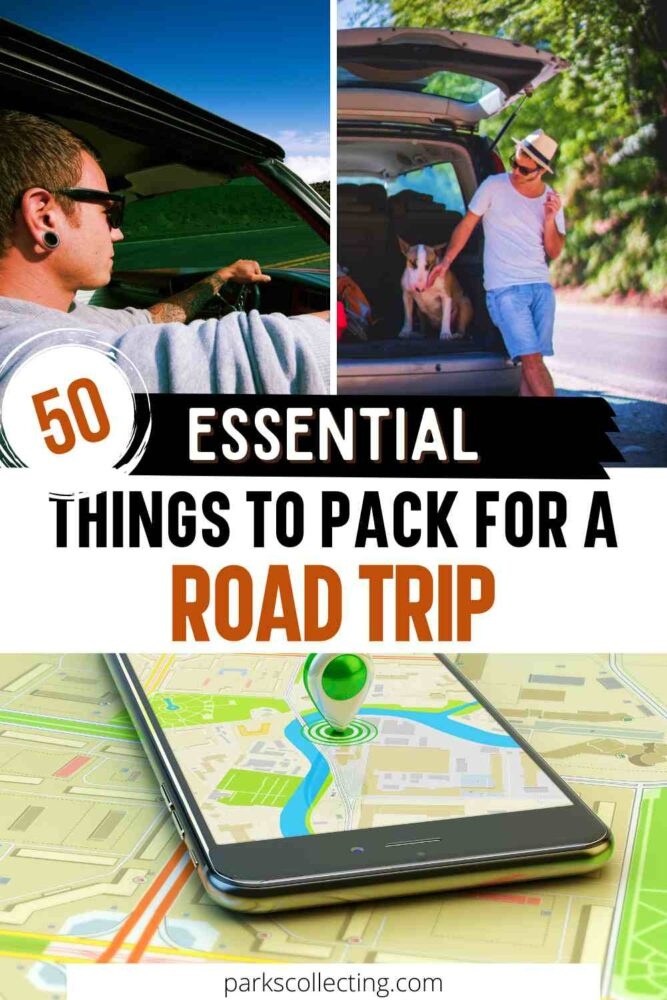 50 Essential Things to Pack for a Road Trip