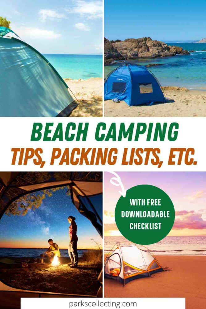 Beach Camping Tips, Packing Lists, etc.