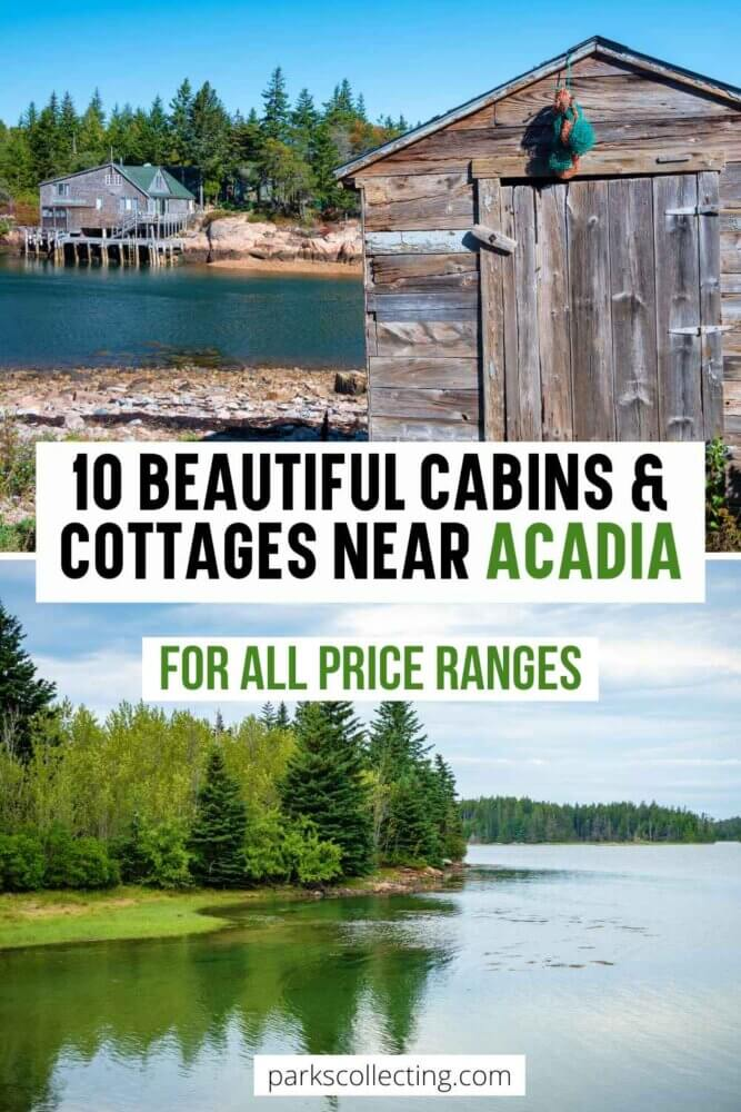 Beautiful Cabins and Cottages near Acadia National Park
