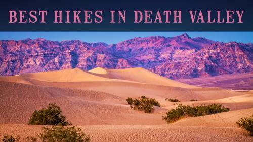 Best Hikes in Death Valley