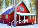 Big Red Cabin