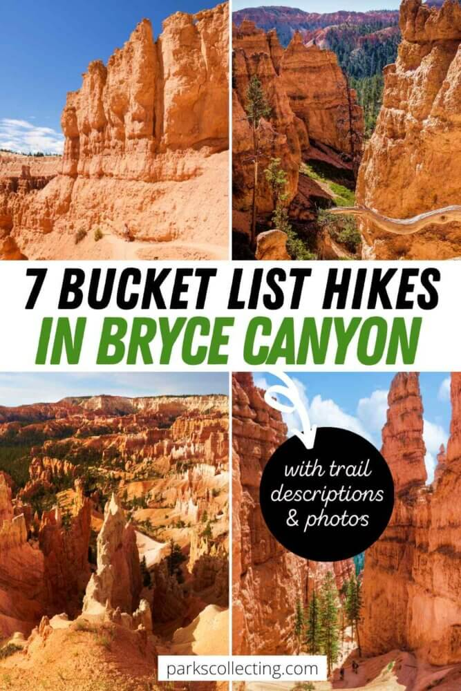 Bucket List Hikes in Bryce Canyon