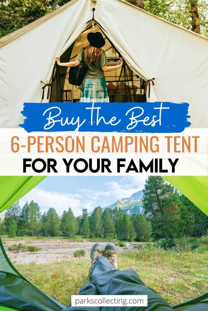 Buy the Best 6-Person Camping Tent for Your Family