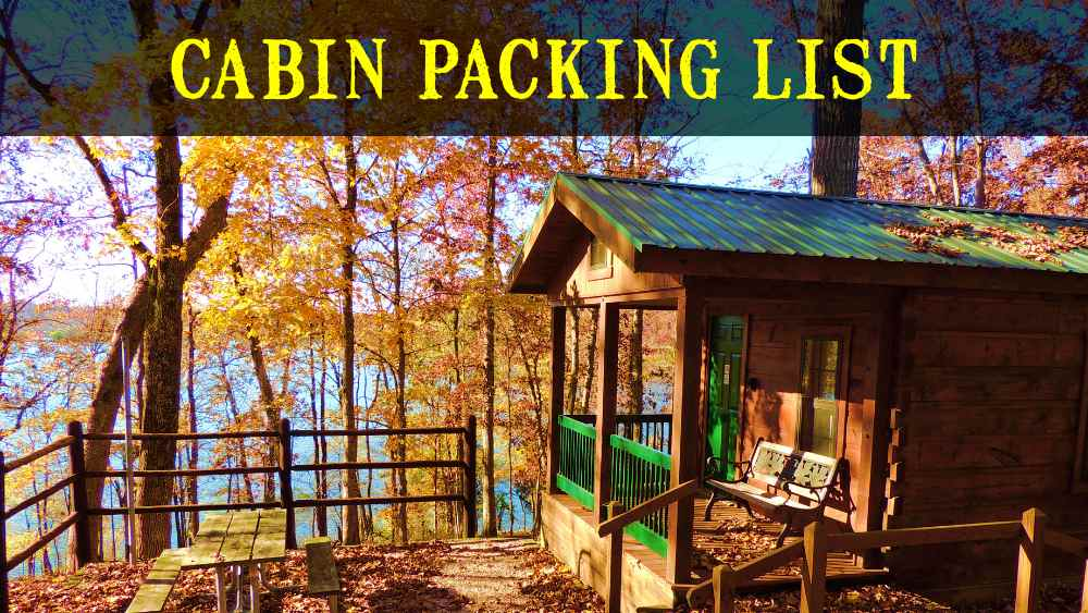 Cabin Packing List