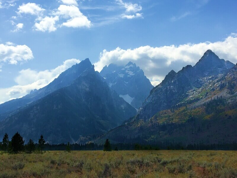 Cathedral-Group-Turnout-Grand-teton-National-Park-scenic-drive