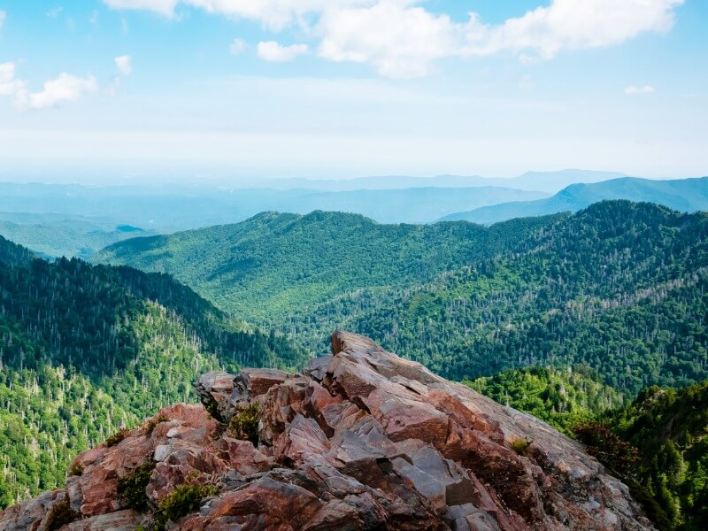 Charles Bunion Trail Great Smoky Mountains National Park