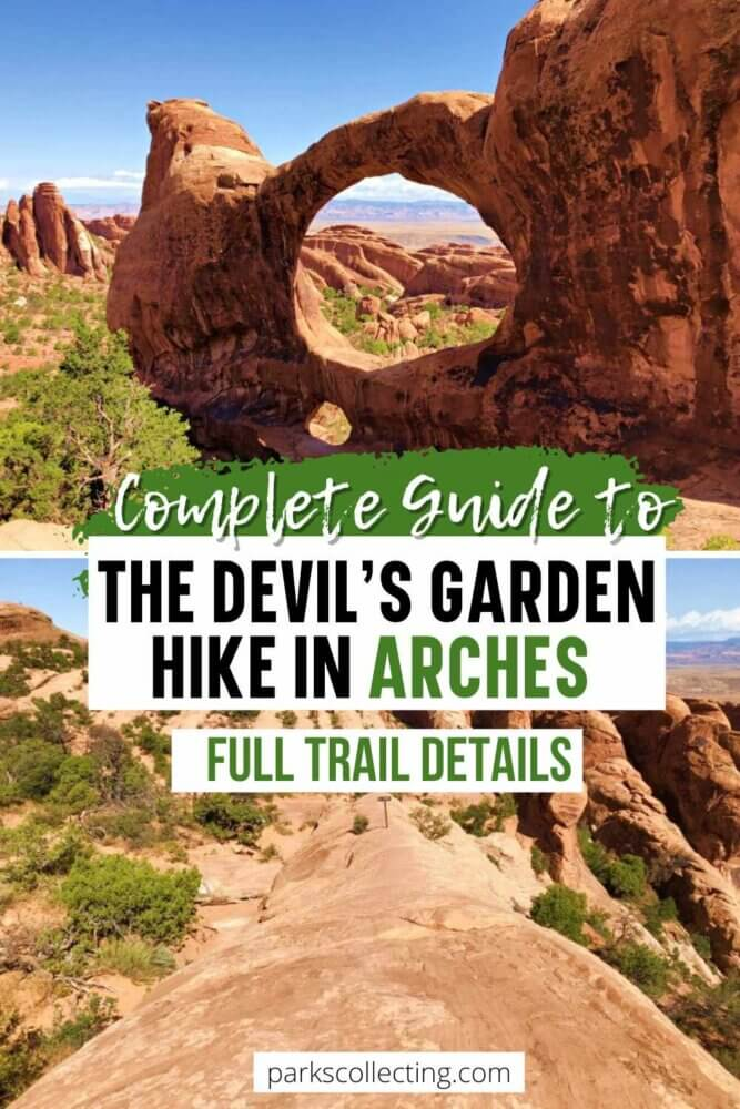 Complete Guide to the Devils Garden Hike in Arches National Park