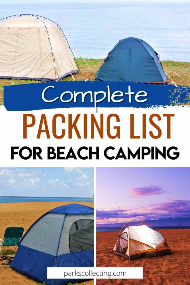 Complete Packing List for Beach Camping