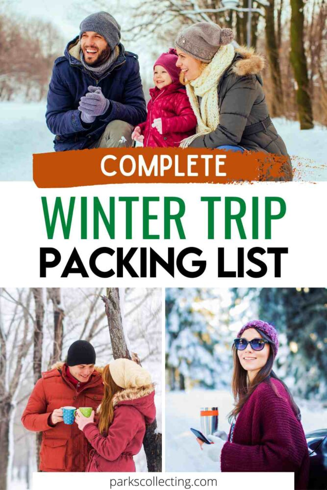 Complete Winter Trip Packing List