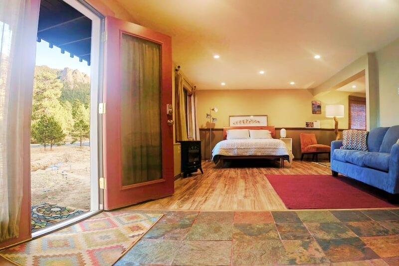 Creekside Suite Airbnb Estes Park Rocky Mountain National Park