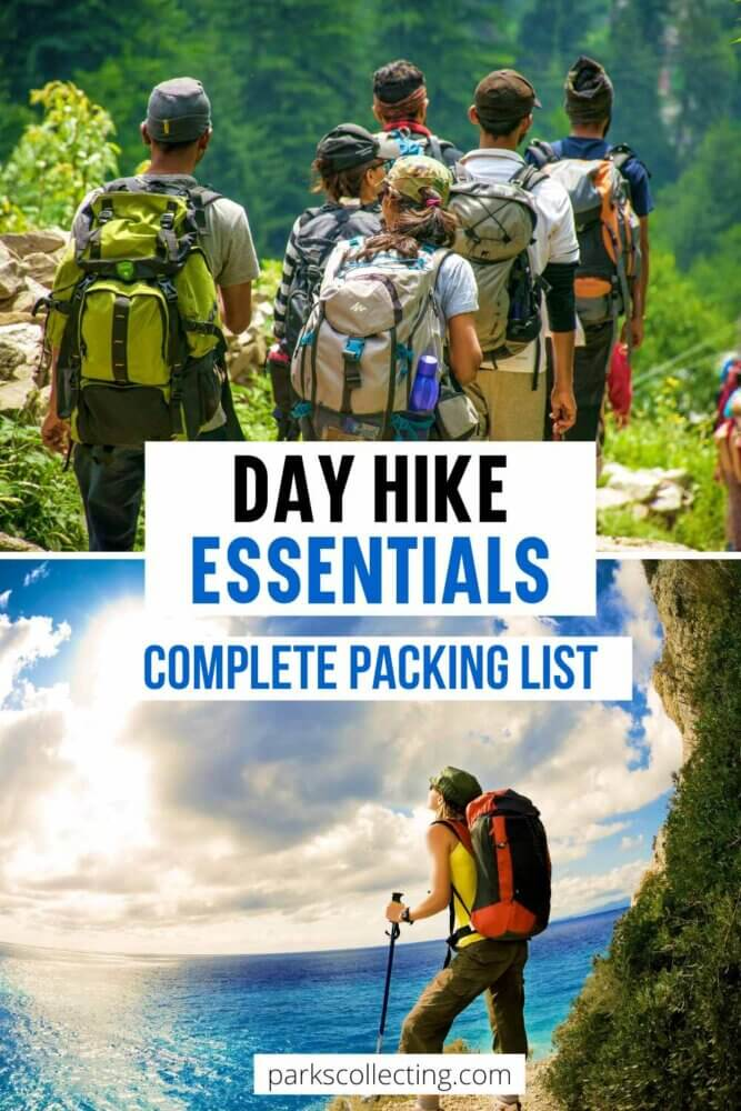 Day Hike Essentials Complete Packing List