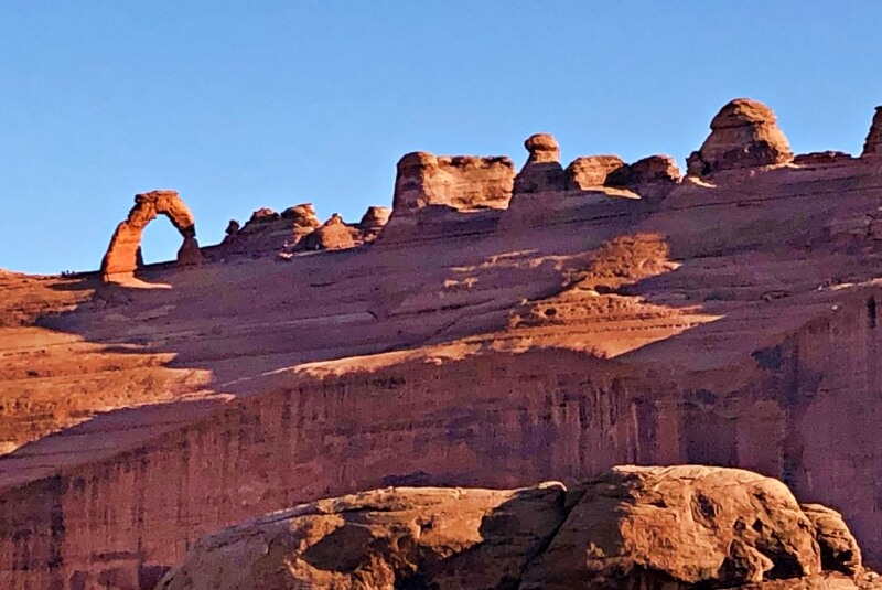 Delicate Arch Viewpoint one of the Best Hikes in Arches National Park