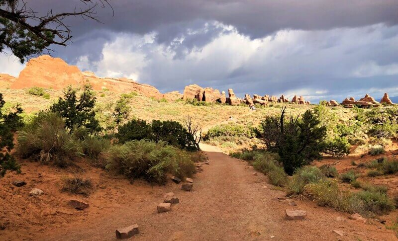 Devils-Garden-TRail-Arches-National-Park-back-on-the-main-trail