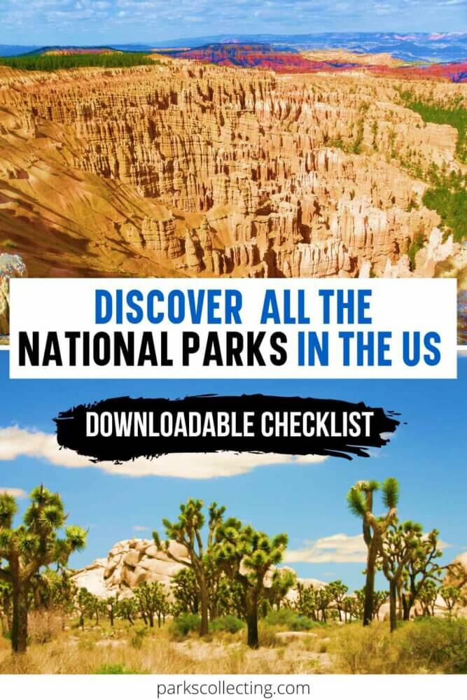 Discover all the National Parks in USA_Downloadable Checklist