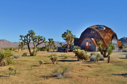Dome House Airbnb Joshua Tree