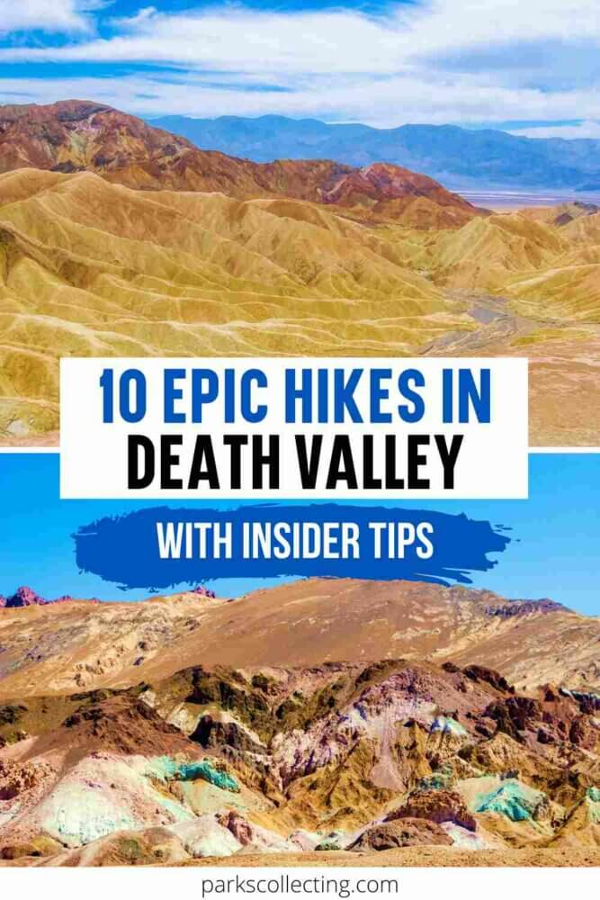 Epic Hikes in Death Valley