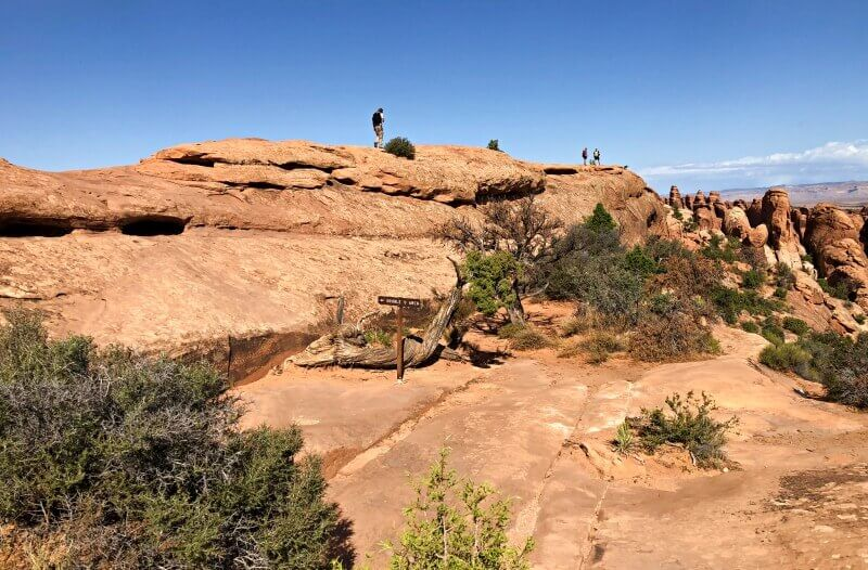 Found-the-trail-to-double-o-arch-over-a-fin-Devils-Garden-TRail-Arches-National-Park