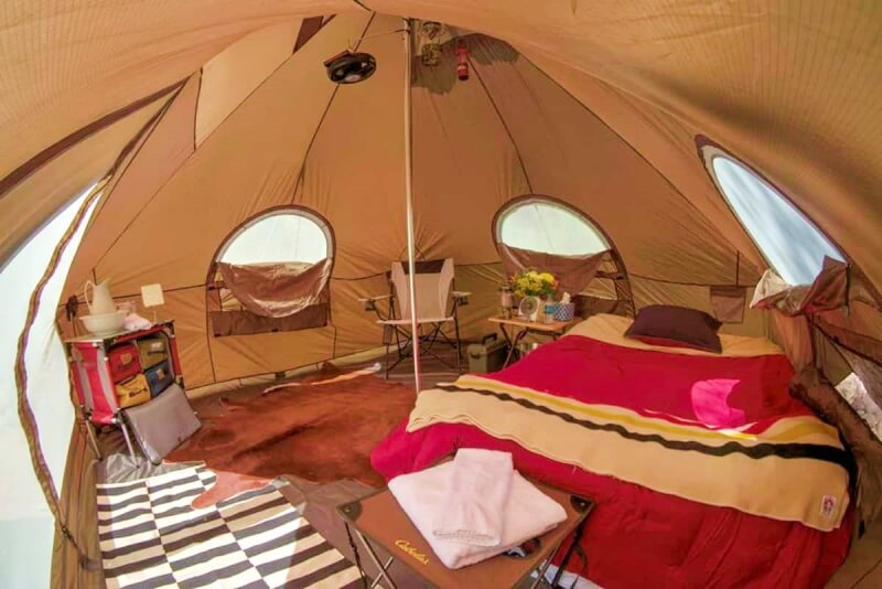 Glampsite airbnb grand canyon