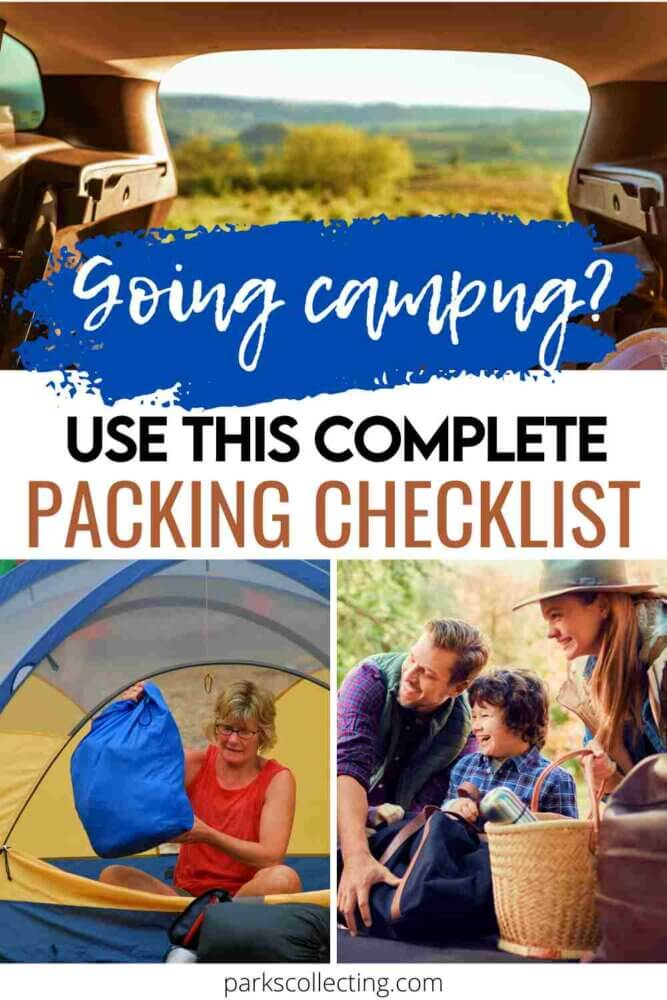 Going Camping_ Use this Complete Packing Checklist