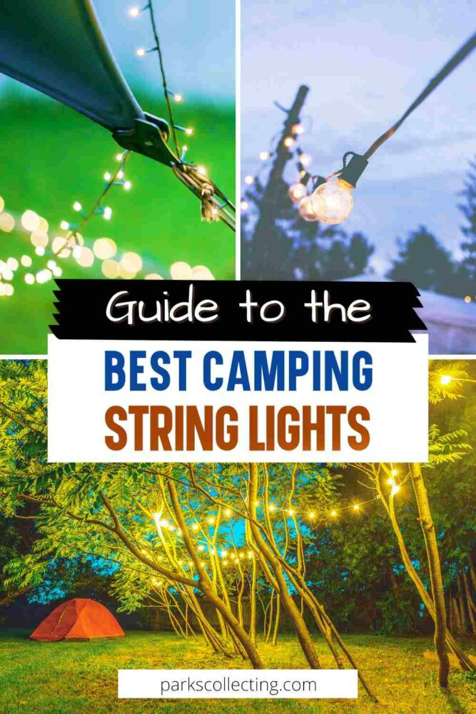 Guide to the Best Camping String Lights Outdoors