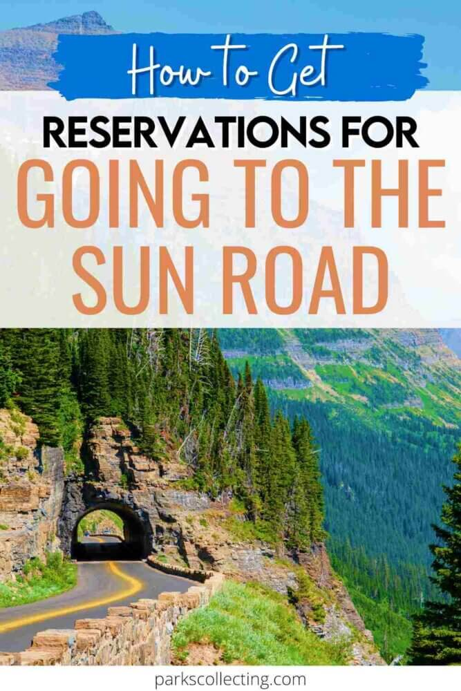 How to Get Reservations for Going to The Sun Road