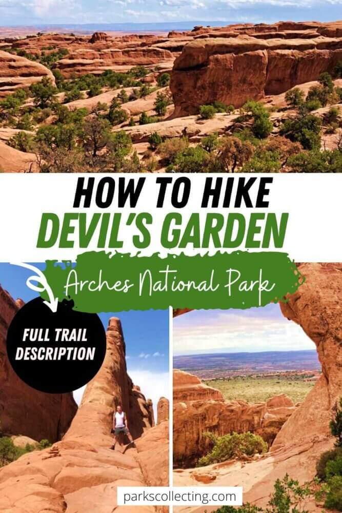 How to Hike Devils Garden Arches National Park