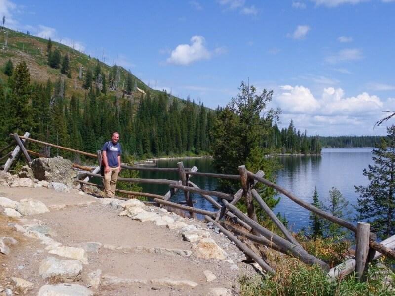 Jenny-Lake-west-shore Grand Teton National Park