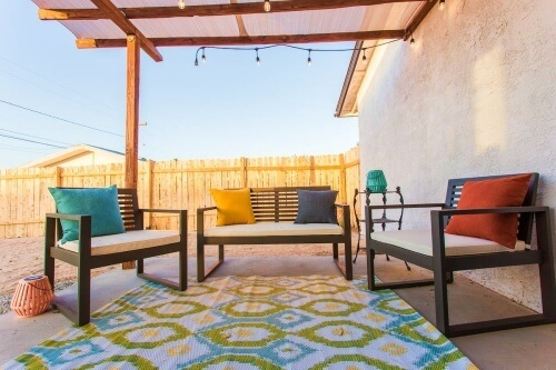 Lounging and Luxury Airbnb Joshua Tree