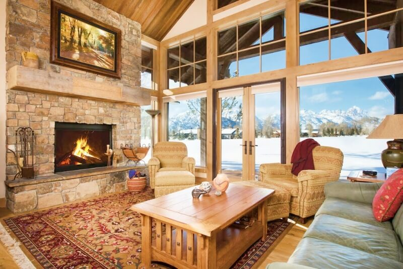 Luxury Cabin Teton Views