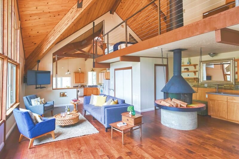 Mountain Home inside Sequoia Airbnb Sequoia National Park
