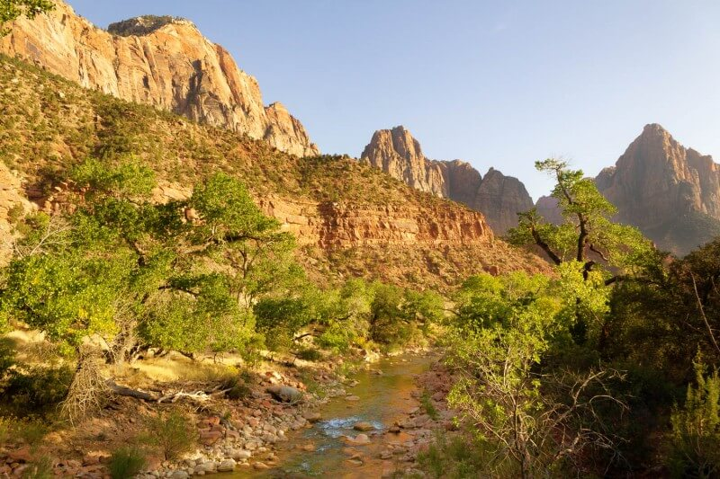 Pa Rus Trail in zion national park