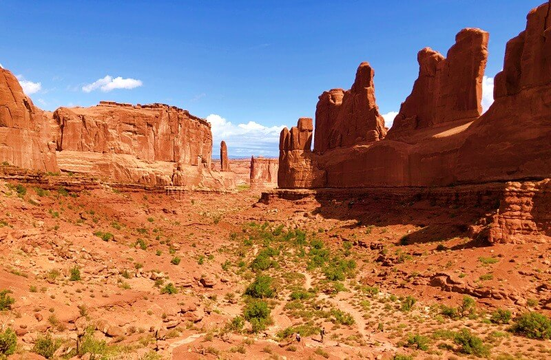 Park Avenue one of the Best Hikes in Arches National Park