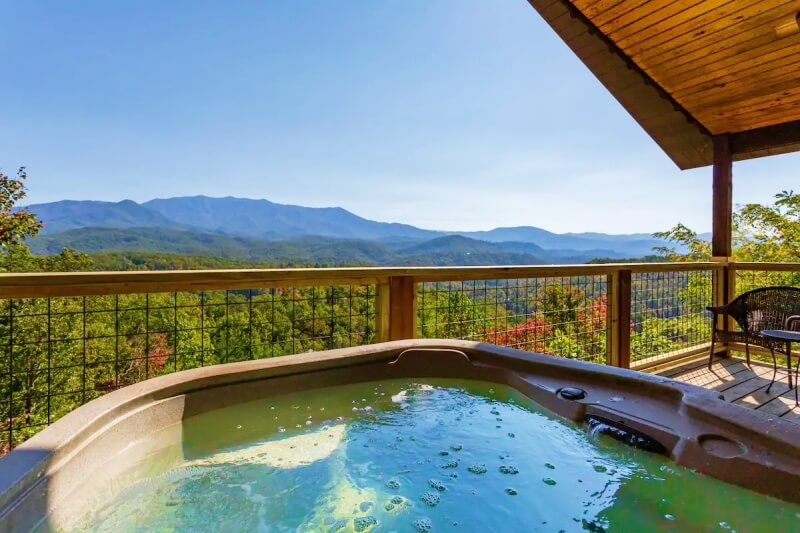 Park Panorama Airbnb Gatlinburg Tennessee_Great Smoky Mountains National Park
