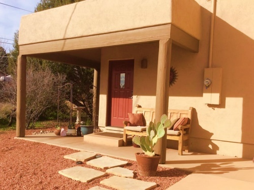 Peace Park Spa Suit airbnb sedona