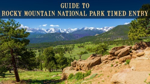 Rocky Mountain National Park Timed Entry