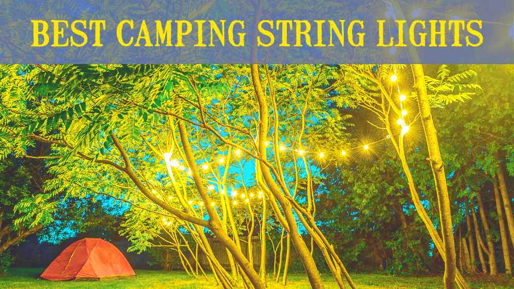 String LightS for camping