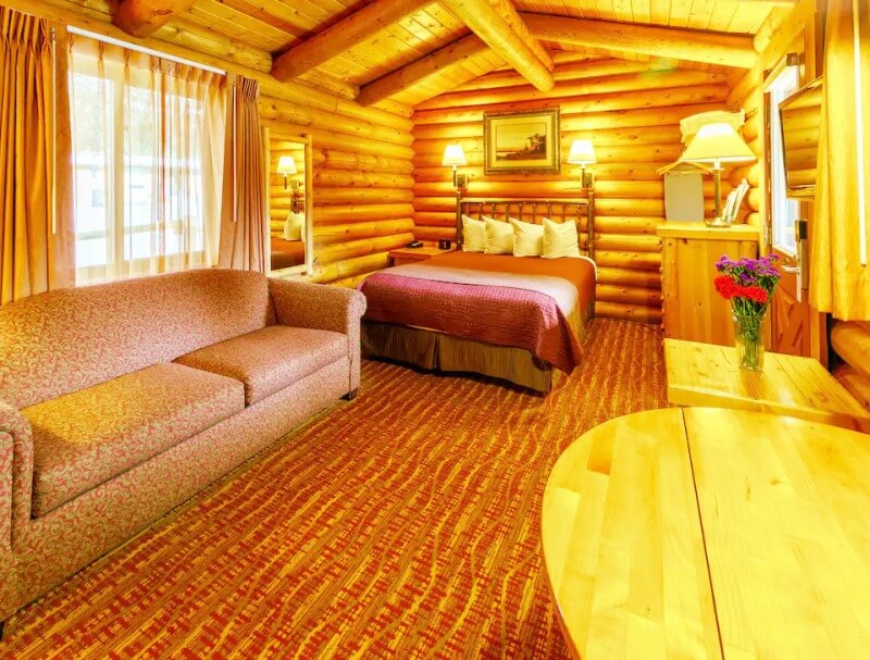 Studio-Log-Cabin-at-Cowboy-Village-Resort