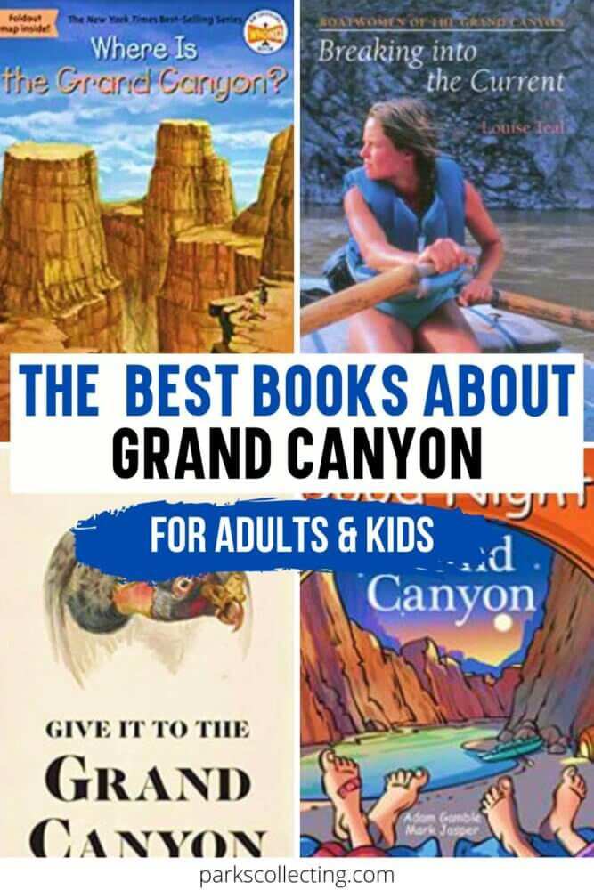 The Best Books About Grand Canyon_For Adults and Kids