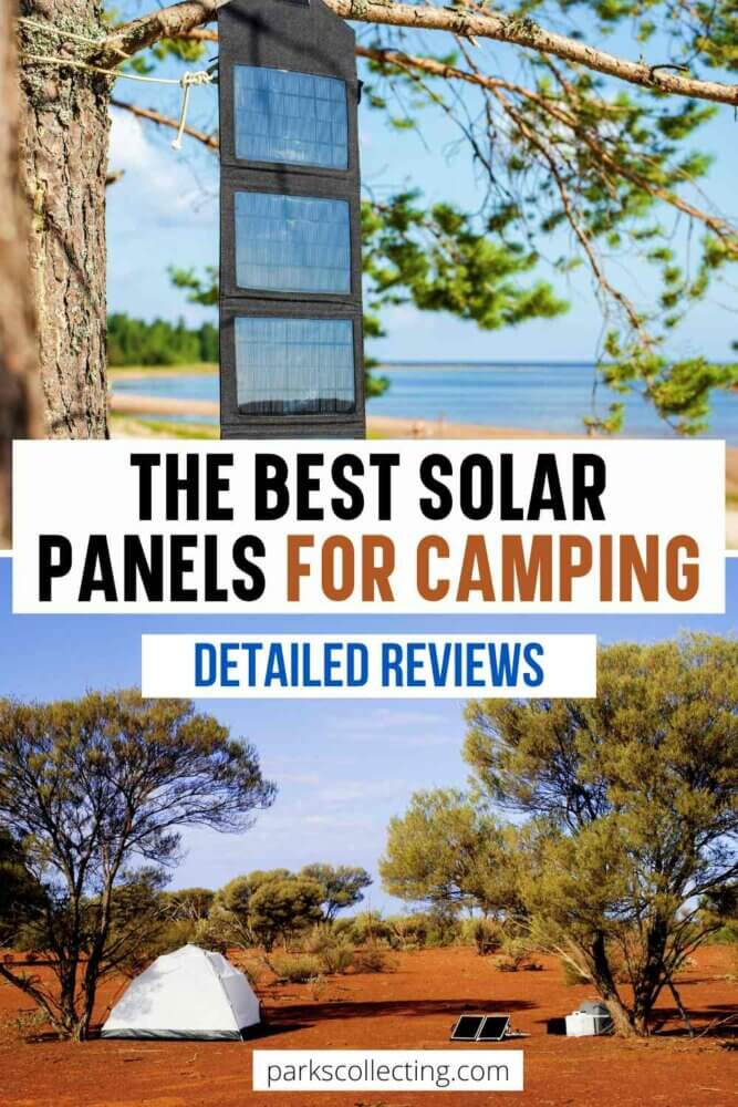 The Best Solar Panels for Camping_Detailed Reviews