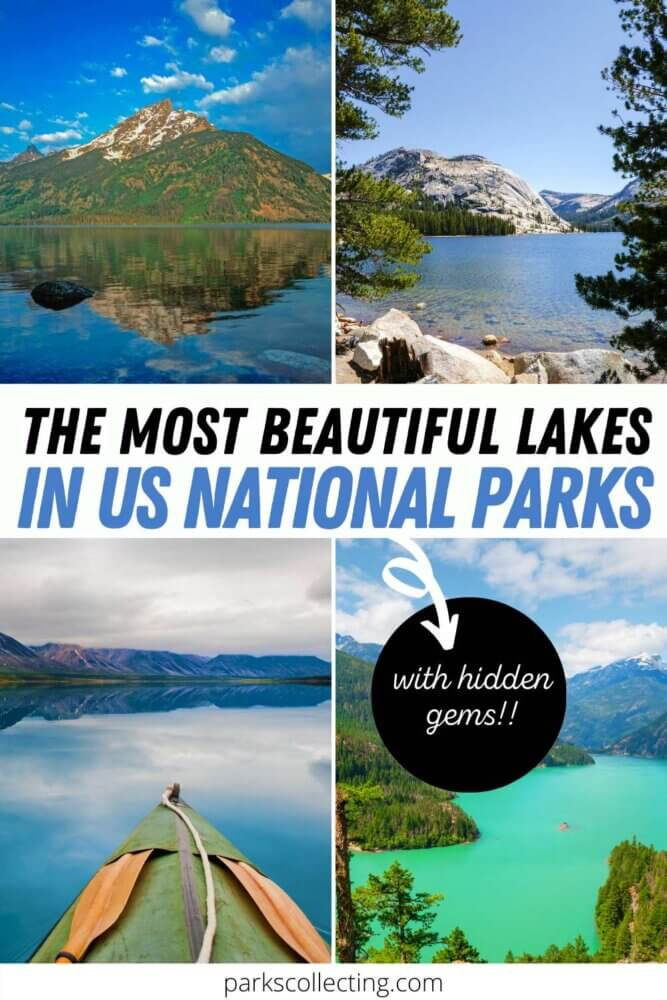 The Most Beautiful Lakes in US National Parks