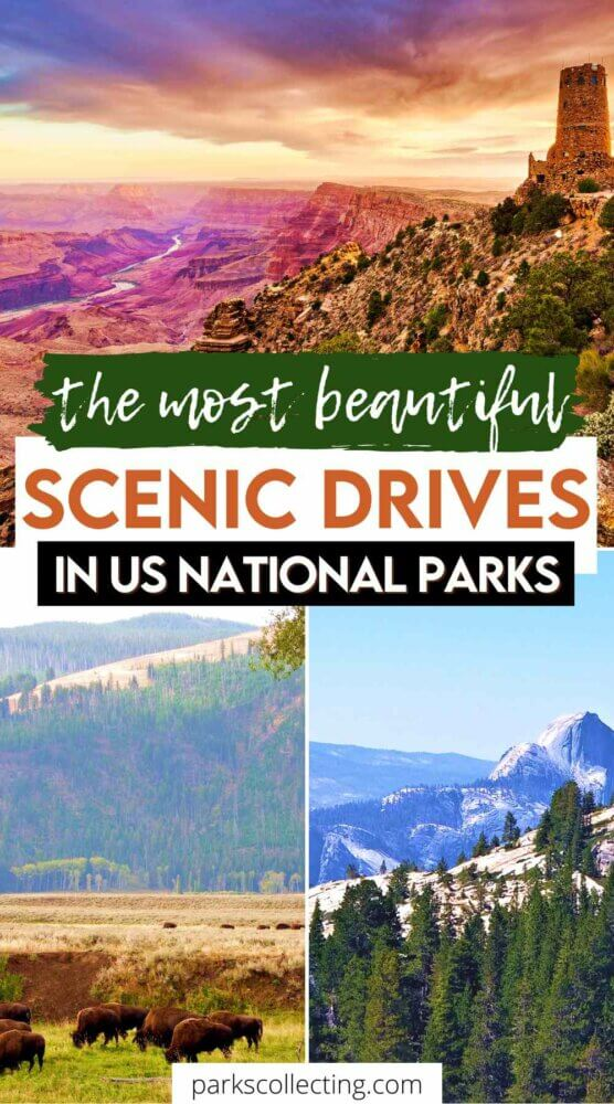 The Most Beautiful Scenic Drives in US National Parks