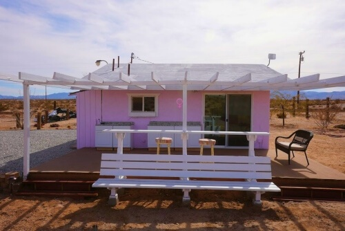 The Pink Place Airbnb Joshua Tree
