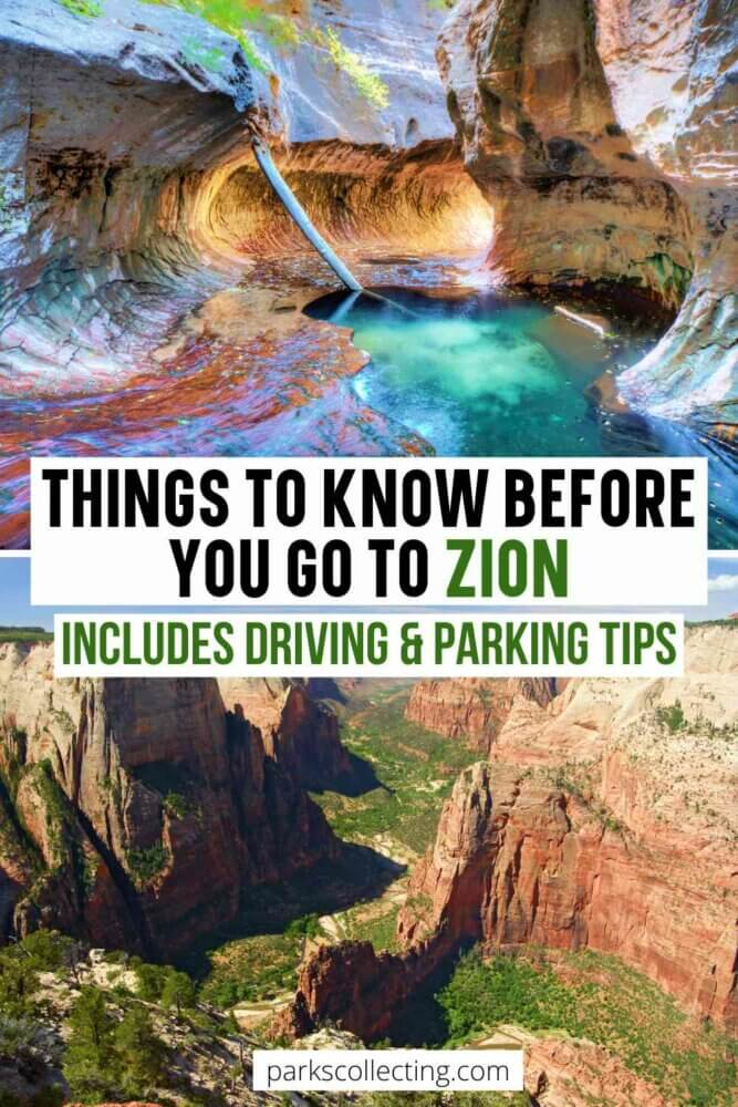 Things to Know Before You Go to Zion