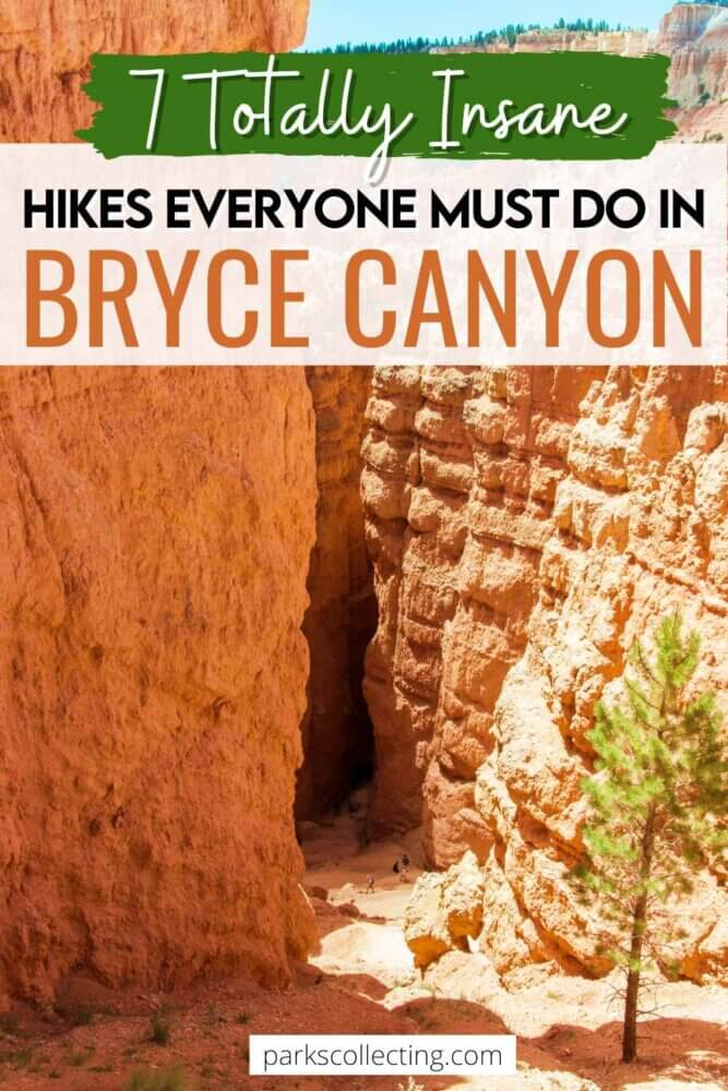 Totally Insane Hikes Everyone Must Do in Bryce Canyon