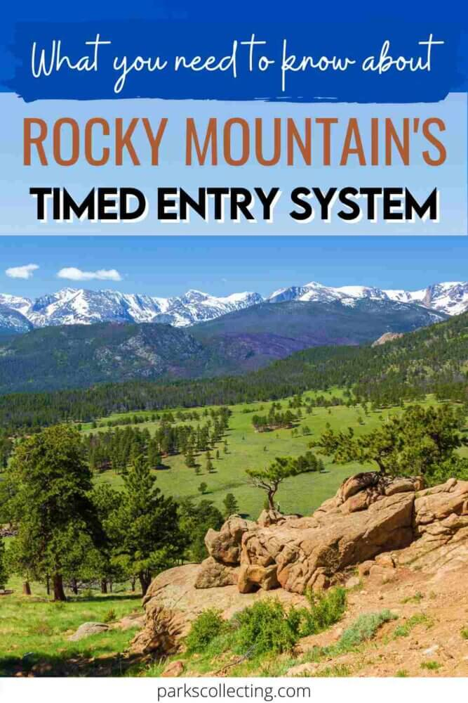 What You Need to Know About Rocky Mountains Timed Entry System
