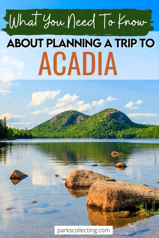 What You Need to Know about Planning a Trip to Acadia National Park